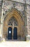 Porta de uma igreja Foto de Stock
