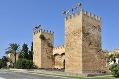 Porta de Xara en Alcudia Imagen de archivo