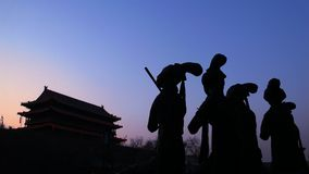 Porta de Xi'an, China Fotos de Stock Royalty Free