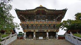Porta de Yomeimon de Kosanji Temple em Japão fotos de stock royalty free