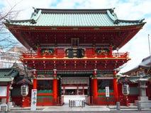 porta de Zuishin-segunda-feira do santuário xintoísmo de Kanda Myojin fotos de stock