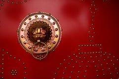 Porta - decoração do indicador Fotografia de Stock Royalty Free
