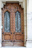 Porta decorada clássica Foto de Stock Royalty Free