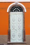 Porta decorada na UIT Foto de Stock Royalty Free