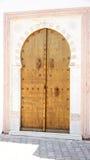 Porta decorata tipica in Sidi Bou Said Immagine Stock Libera da Diritti