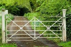 Porta decorativa Imagem de Stock Royalty Free