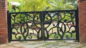Porta decorativa Imagens de Stock Royalty Free