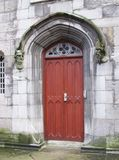 Porta decorativa Castelo de Dublin fotografia de stock royalty free