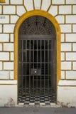 Porta decorativa em San Juan velho Foto de Stock Royalty Free