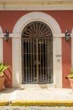 Porta decorativa em San Juan velho Fotos de Stock Royalty Free
