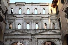 Porta dei Borsari w Verona Obraz Royalty Free