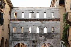 Porta dei Borsari w Verona Zdjęcie Stock