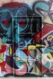 Porta dei graffiti Fotografie Stock Libere da Diritti