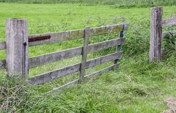 Porta deixada aberta Fotografia de Stock Royalty Free