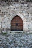 Porta del castello Fotografie Stock