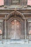 Porta del castello Fotografia Stock