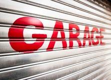 Porta del garage Immagine Stock Libera da Diritti