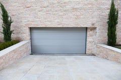 Porta del garage Fotografia Stock