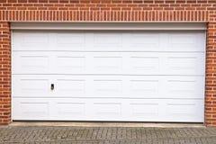 Porta del garage Immagini Stock