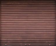 Porta del garage, struttura del fondo dell'otturatore del rullo Immagini Stock