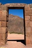 Porta del Inca Fotografie Stock