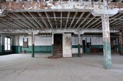 Porta del magazzino Fotografia Stock