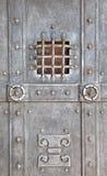 Porta del metallo Immagini Stock