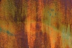 Porta del metallo in ruggine Fotografia Stock