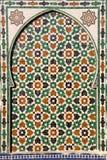 Porta del mosaico Immagine Stock