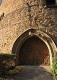 Porta del museo di Goslar Immagini Stock