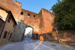 Porta del Musile - Castelfranco Veneto - l'Italia immagini stock libere da diritti