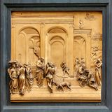 Porta del Paradiso stock photo