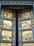 Porta del Paradiso,Firenze ( Italia ). Porta del Paradiso is the eastern door of San Giovanni´s Battistero in Florence Stock Photo