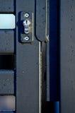 Porta del portone del recinto del metallo Fotografia Stock Libera da Diritti
