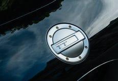 Porta del serbatoio di combustibile del cromo di Audi TT Fotografie Stock Libere da Diritti