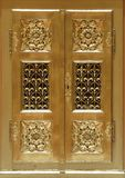 Porta del tabernacolo sull'altare di vergine Maria nella cattedrale di Zagabria Immagine Stock Libera da Diritti