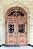 Porta del tempio. Immagini Stock