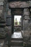 Porta del tempio Fotografie Stock Libere da Diritti