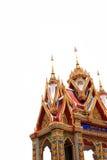 Porta del tempio della Tailandia Immagine Stock