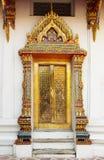 Porta del tempio della Tailandia Bangkok Immagini Stock Libere da Diritti