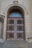 Porta del tempio di Salt Lake Fotografia Stock