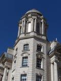 Porta dell'edificio di Liverpool Fotografie Stock