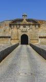 Porta dell'ingresso di Almeida Fotografie Stock