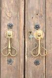 Porta della cappella, Andalusia, Spagna fotografie stock libere da diritti