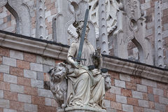 Porta-della Carta Venedig, Italien stockfotografie