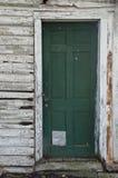 Porta della casa dell'azienda agricola con la riparazione Fotografia Stock Libera da Diritti
