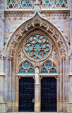 Porta della chiesa Immagini Stock Libere da Diritti
