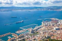 Porta della Gibilterra Fotografie Stock Libere da Diritti