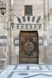 Porta della moschea Fotografia Stock