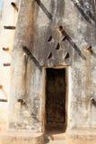Porta della moschea del bastone e del fango Fotografia Stock Libera da Diritti